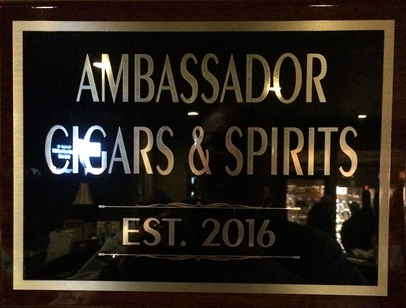 The Ambassador Cigars and Spirits Lounge