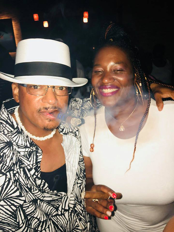 Black smoke Miami 2018 by Melvin (Bossman) Robinson