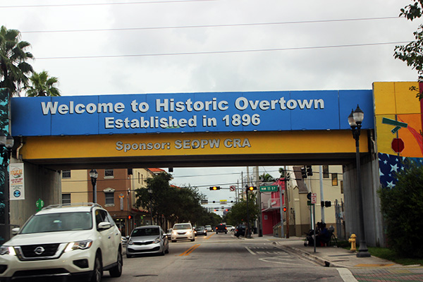 Overtown Entrance